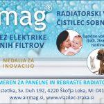 Airmag / oglas v Utripu