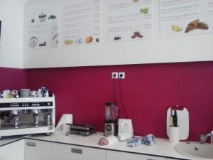 Načrtovanje in grafična oprema lokala FreshPoint na Miklošičevi v Ljubljani