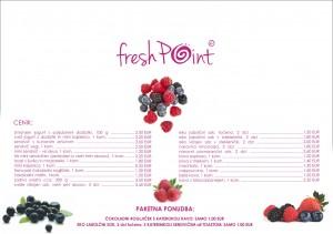 FreshPoint / stenska grafika - cenik