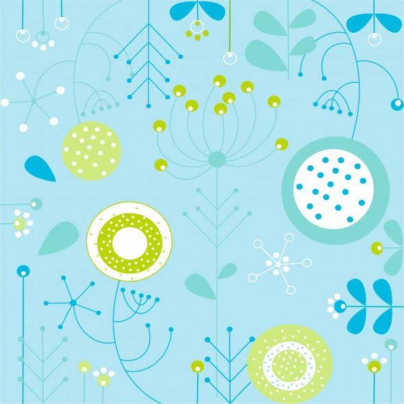 Spring - blue