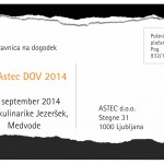 Astec / prijavnica DOV 2014
