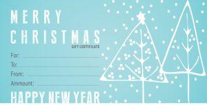 Gift Certificate / Božič