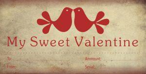 Gift Certificate / Valentinovo