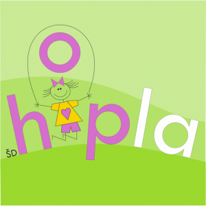 logotip Hopla