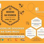Razvojna agencija Sora / jumbo plakat za Medeno