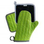 Color kuhinjski tekstil / prijemalka in rokavica