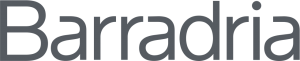 logotip Barradria grey