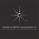 logotip CKS sivine na crni