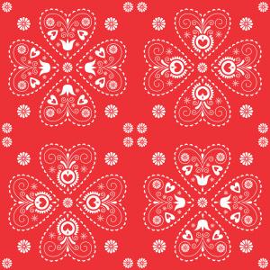 motiv srce red