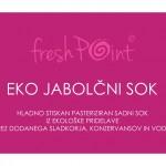 FreshPoint / nalepka za sok