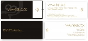 Waveblock / predlog posetnice