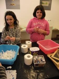 priprava/reciklaža materialov