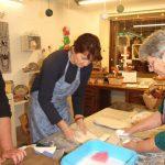 Rokodelski center DUO. rokodelska delavnica mokrega polstenja copat
